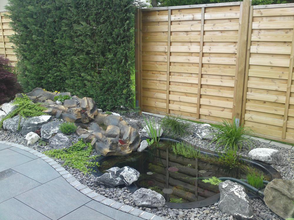 gartengestaltung vorgarten mit wasser bilder – sarakane,