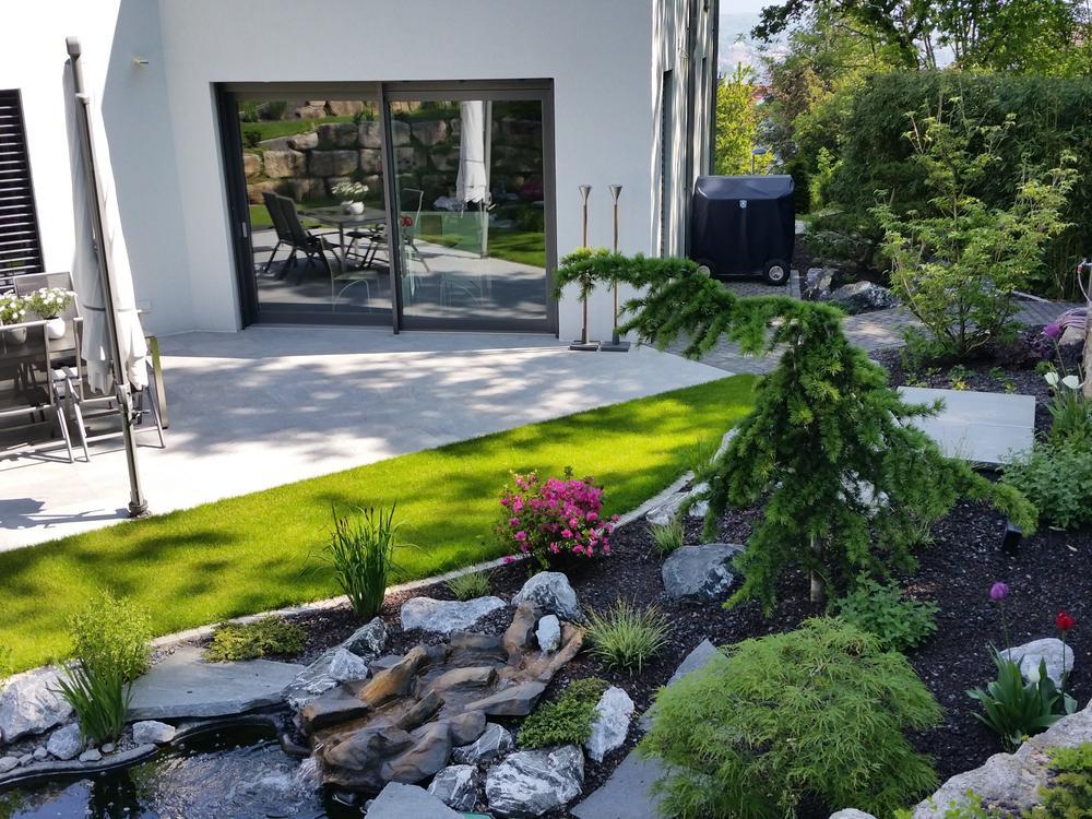 Puristische Gartengestaltung referenzen purismus klarheit farben mitterhofer gartengestaltung